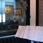 Recording violin arrangements of movie themes <br />for Hal Leonard